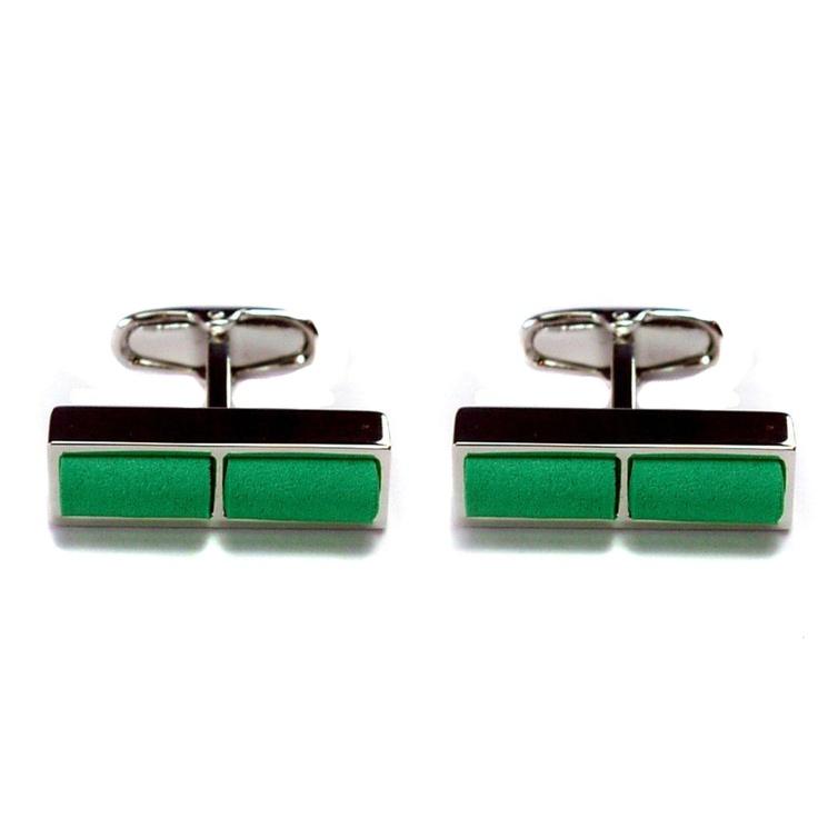 GiroGENT Sprint Green Cufflinks