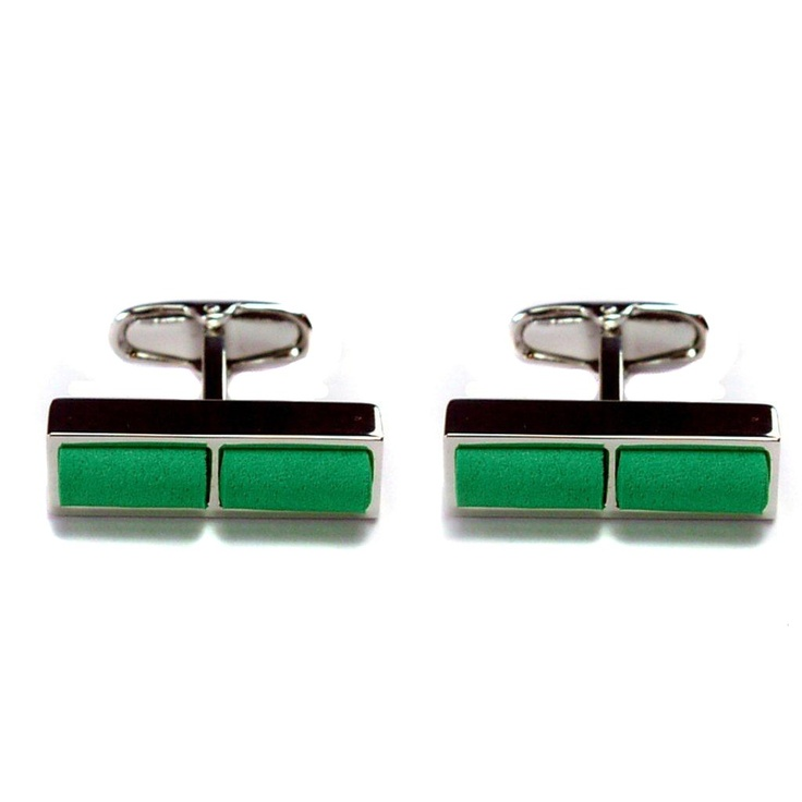 GiroGENT Sprint Green Cufflinks