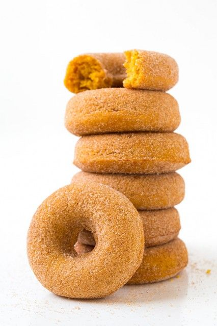Baked pumpkin donuts #recipe #pumpkin