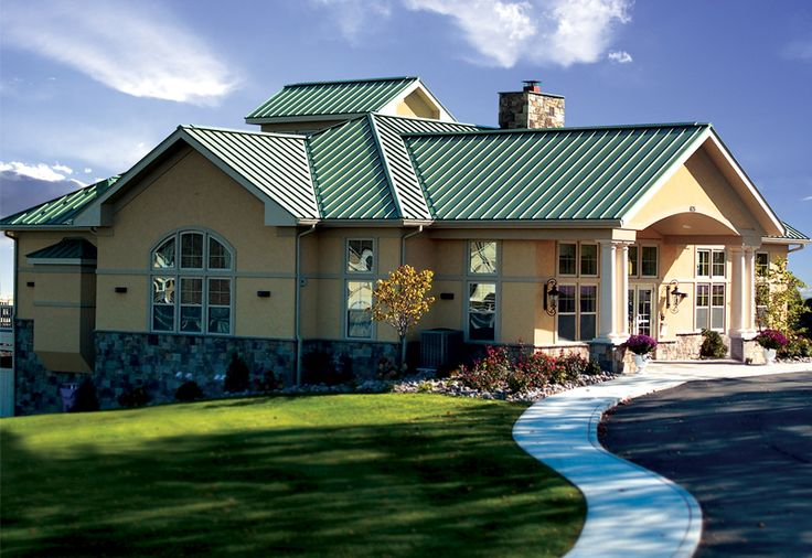 Best Add A Splash Of Color With A Dutch Seam Roof In Patina 400 x 300