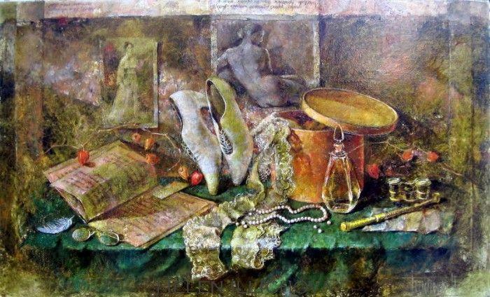 натюрморты художника Елены Ильичевой - 07