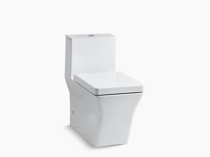 KOHLER|K-3797|Rêve One-Piece Compact Elongated Dual-Flush Toilet w/Seat | KOHLER