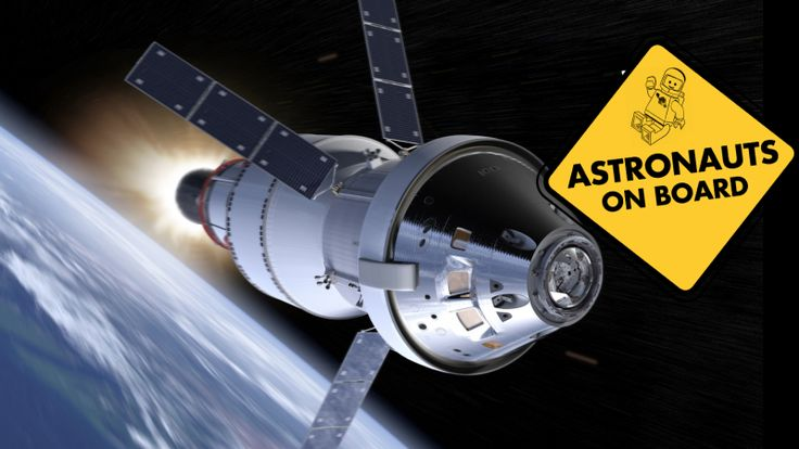 NASA May Send Astronauts Around The Moon On The First Test Flight Of Its New Spacecraft 2/21/17 NASA is considering launching a living, human crew on the first integrated flight of the new Space Launch System (SLS) and Orion spacecraft currently scheduled for late 2018
