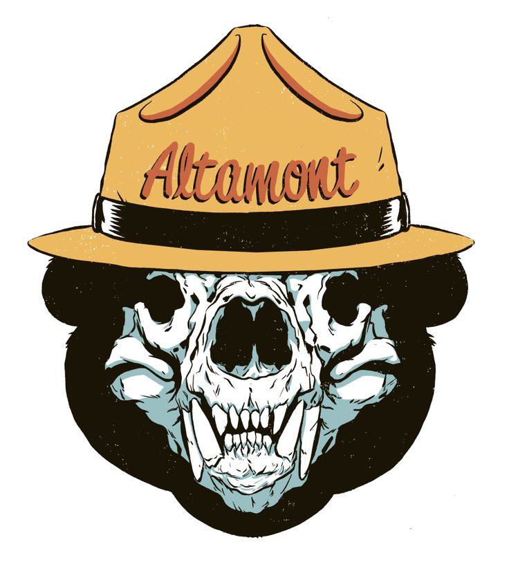 Shirt design for Altamont Clothing. Lots of new stuff at www.garymusgrave.com!