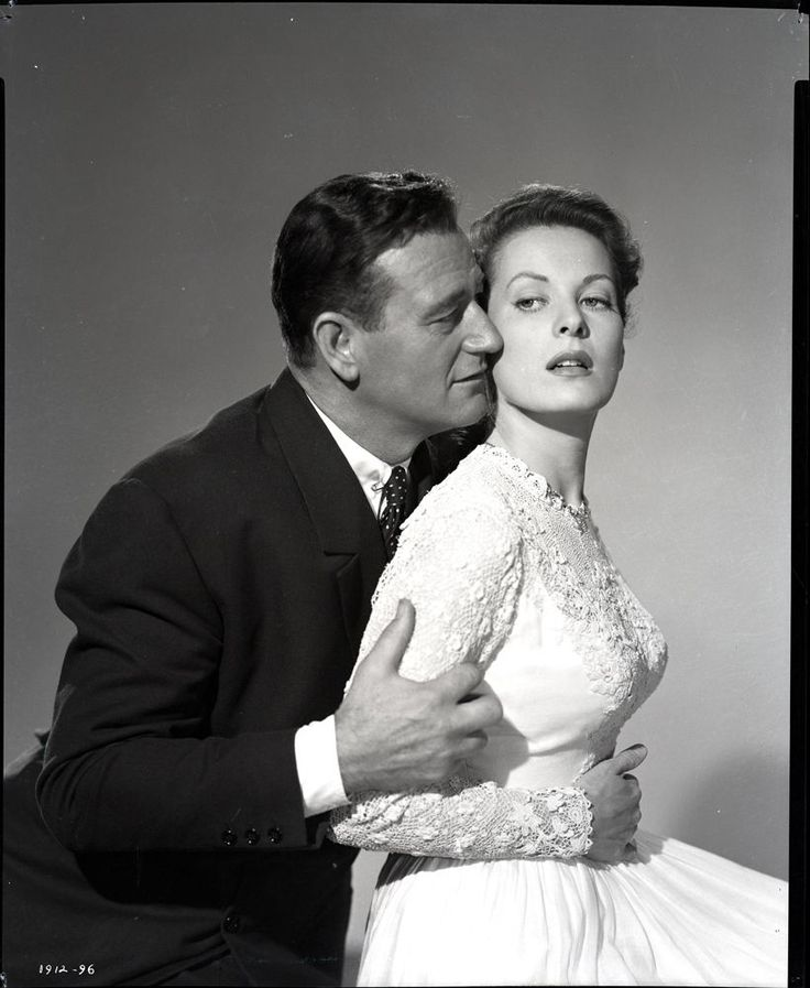 John Wayne and Maureen O'Hara in The Quiet Man. 1952