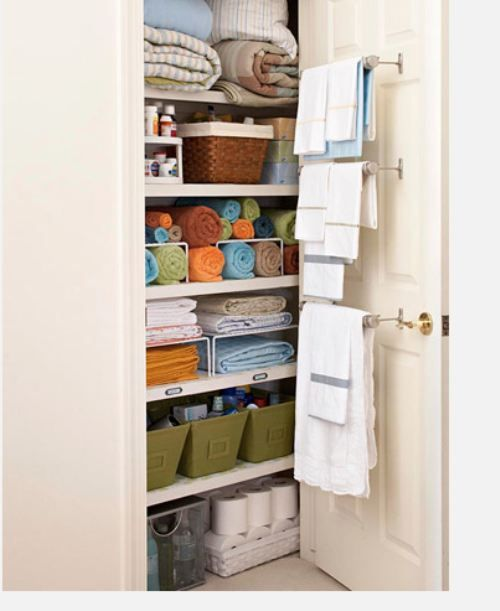 there's no way an airing cupboard would look like this for long.