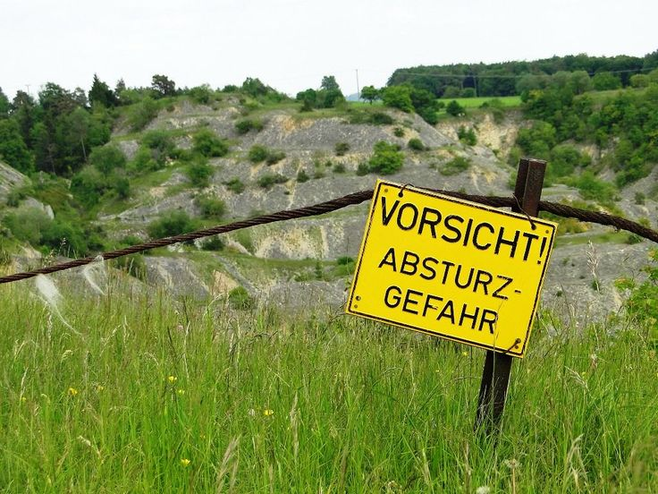 Steinbruchhalden bei Mörnsheim