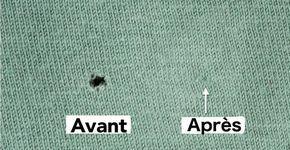 Vous avez fait un trou dans votre pull préféré? Vous n'avez pas à le coudre pour le réparer! Voici ce qu'il faut faire!