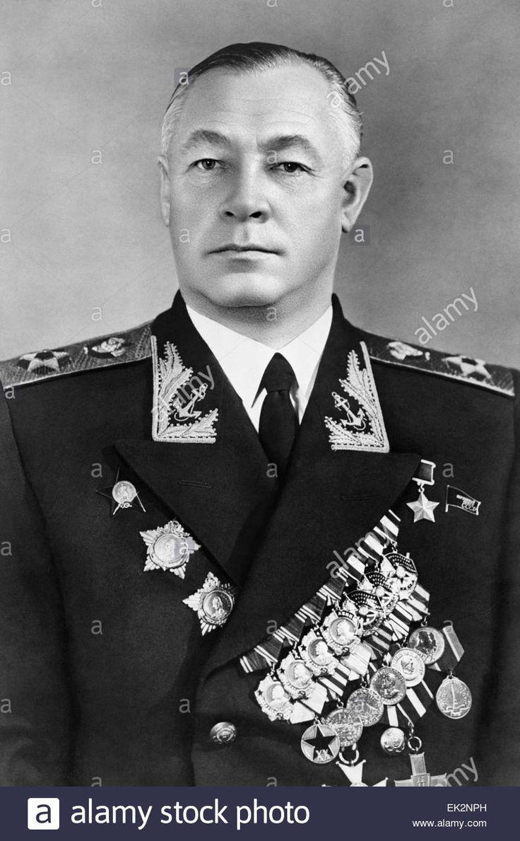 Soviet Navy Admiral Nikolai Kuznetsov.
