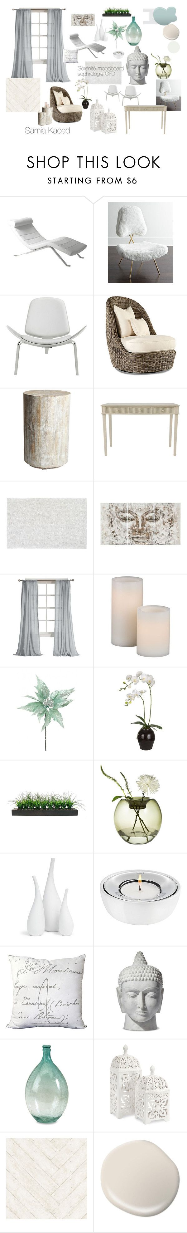 """""""MoodBoard pour cabinet de sophrologue CFD"""" by sam-kaced on Polyvore featuring interior, interiors, interior design, home, home decor, interior decorating, Eurø Style, Jonathan Adler, Steel   Lark and Lane Venture"""