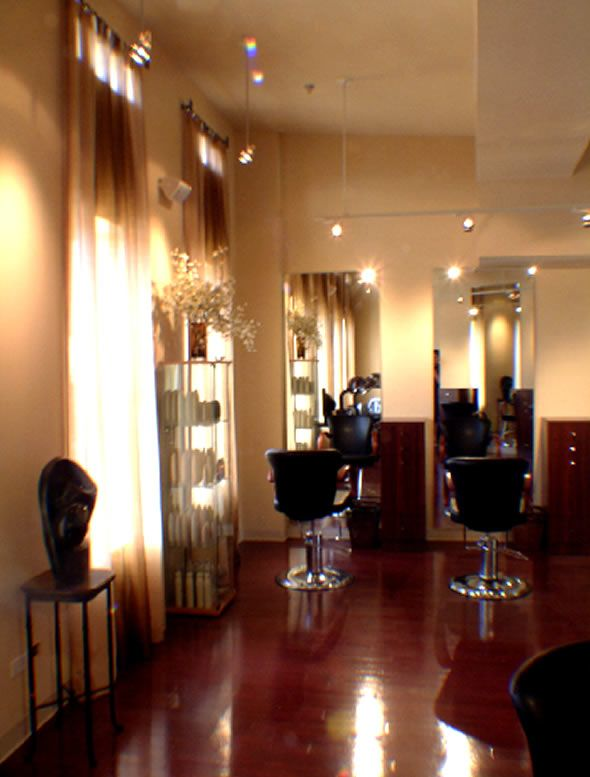 Hair salon design ideas commercial interior design soul for Photos salon design