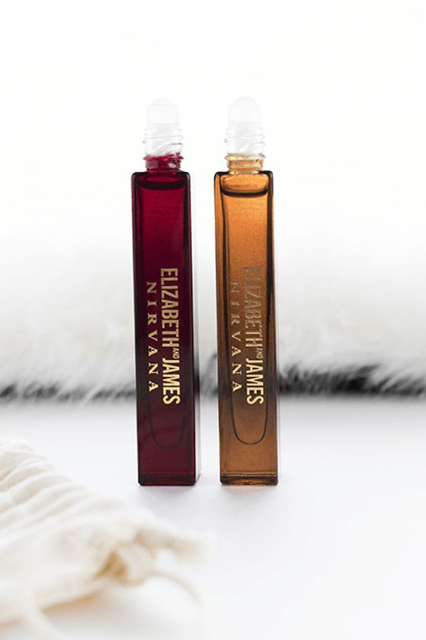 Good news for Elizabeth and James fragrance lovers--They now have two new fragrances: Nirvana Rose and Nirvana Bourbon. Nirvana Rose has notes of rose de mai, geranium, and vetiver, while Nirvana Bourbon boasts vanilla bourbon, oakwood, and tuberose. Shop the full collection here...