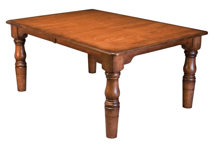 Amish Handcrafted French Country Farm House Table  Shipshewana Dining Collection  This classic French Country Farmhouse Table is Amish handcrafted in Indiana. If you are looking to bring some design to your dining room this is the one for you.