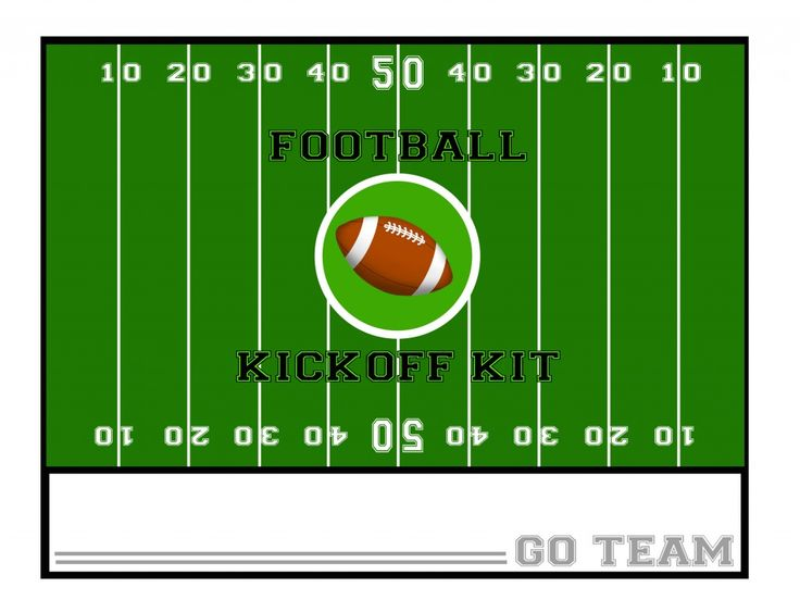 Football Kickoff Kit. Site has great ideas for gift basket themes and downloadable tags, etc.