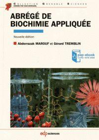 Abderrazak Marouf - Abrégé de biochimie appliquée.