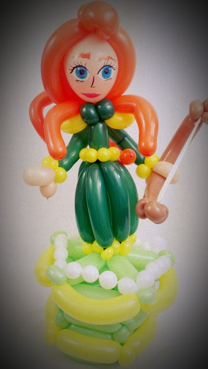 Extra Special Brave Balloon Animal for the Birthday Girl!