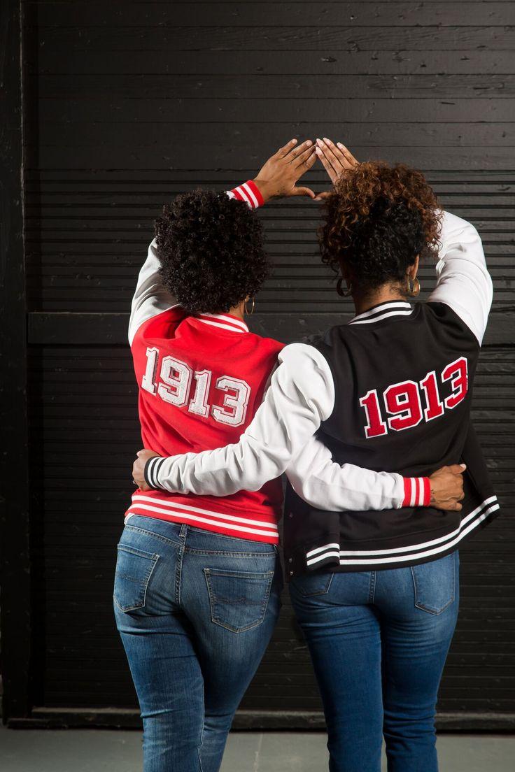 Delta Sigma Theta Varsity Jackets