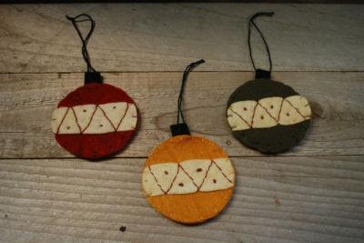 stitched ornaments#2