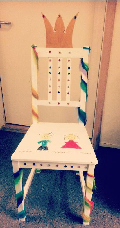 Bursdagsstol til barnehagen
