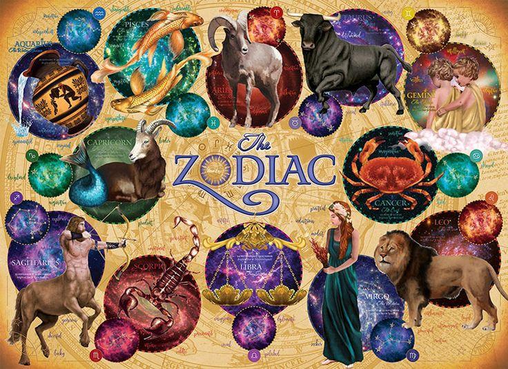 The Zodiac Jigsaw Puzzle