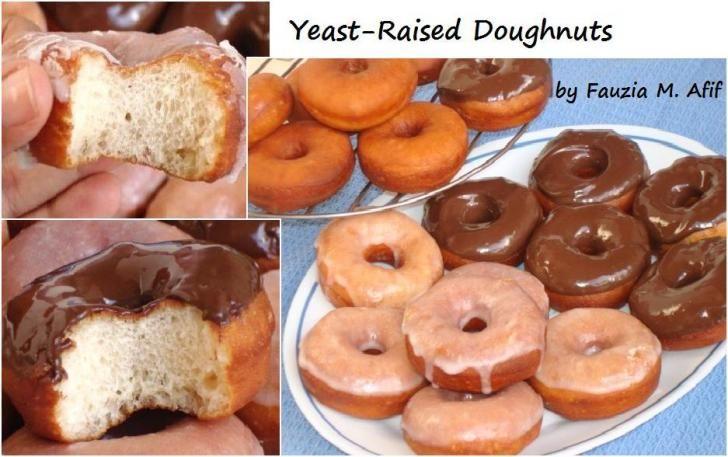 Yeast-Raised Doughnuts | Fauzias Kitchen Fun