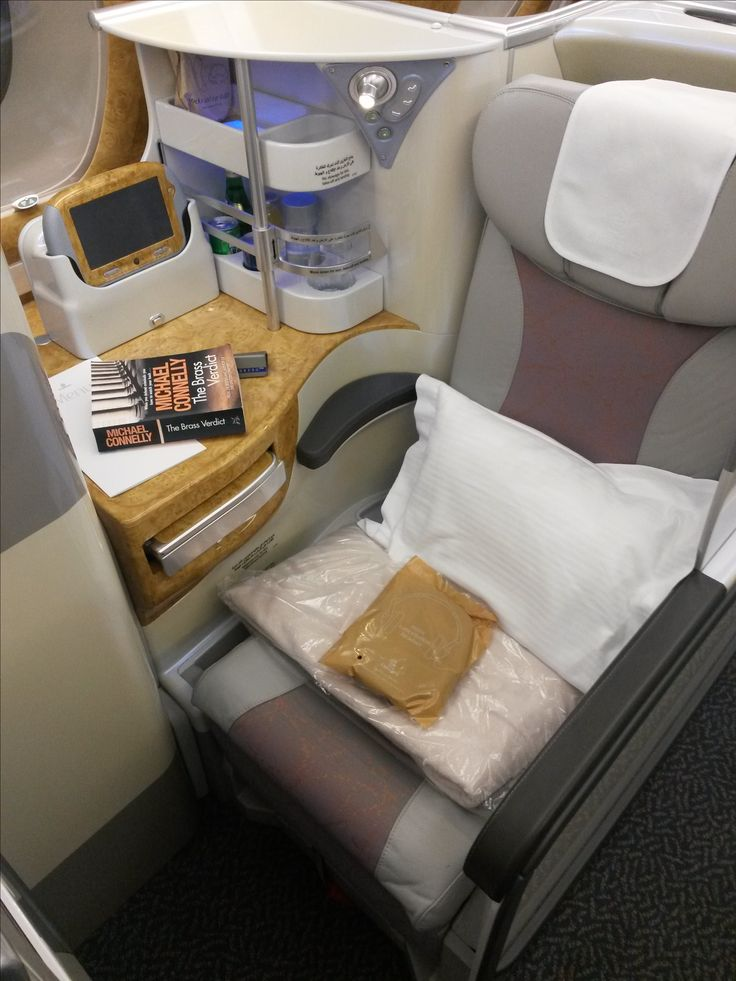 Emirates A380 (Business)