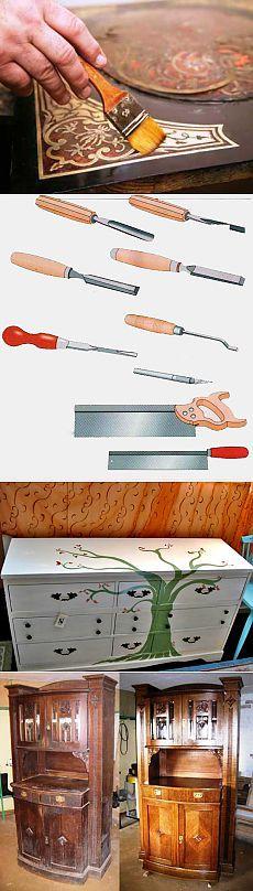 Ремонт и реставрация мебели своими руками: набор инструментов, материалов для реставрации мебели самостоятельно в домашних условиях