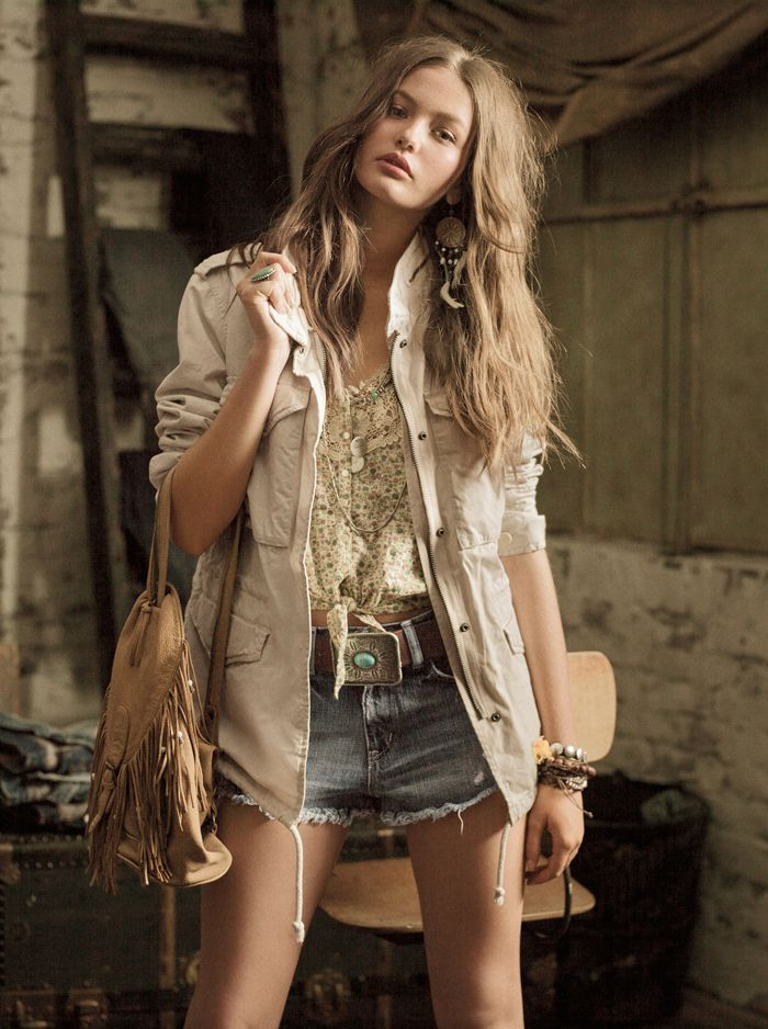 Take a rugged turn into fall with Denim & Supply