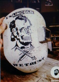skull with welding hood tattoo - Google Search