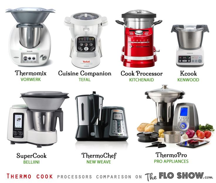 Compare Thermo-appliances in 1 table ⋆TheFloShow.com