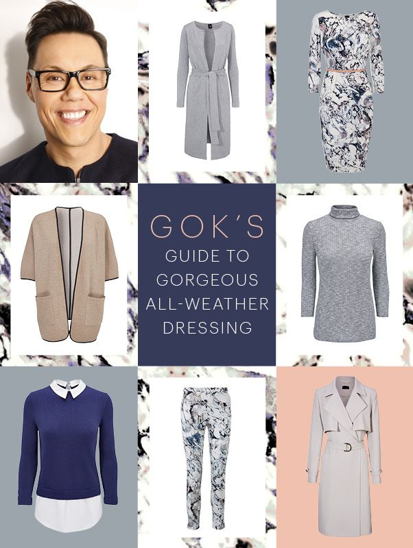 Gok Wan's latest collection for Tu is packed with gorgeous layer-able pieces that look just as stylish piled up for warmth as they do on their own.