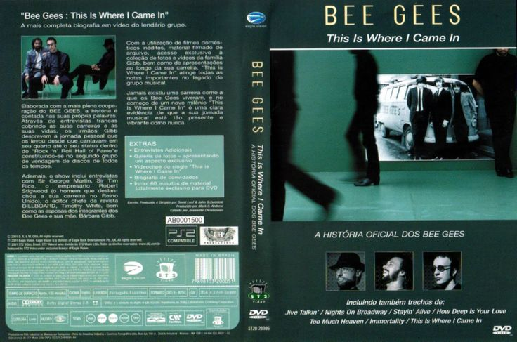 Full DVD de Bee Gees This Is Where I Came In 2001