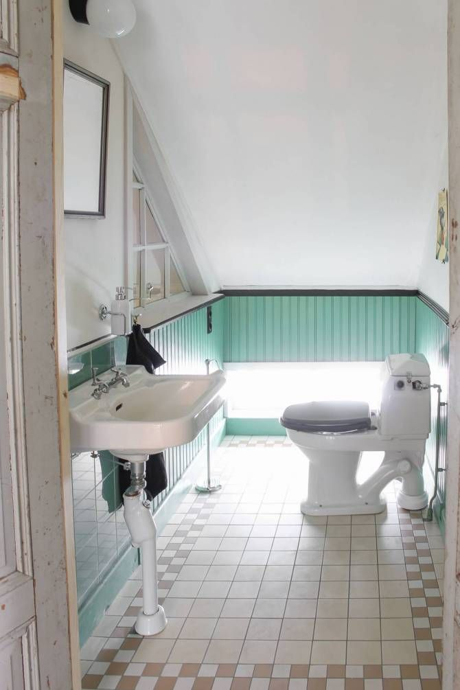 WC med pärlspont. Foto: Erika Åberg