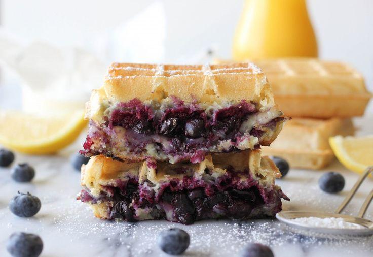 Brie y arándano galleta de queso a la plancha - El queso asado perfecto para el…