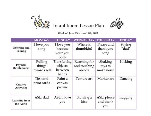 JUNE 2011 Infant Curriculum - Westlake Childcare by suchenfz