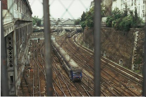 French Railway in Paris. 35mm with Minolta x 570