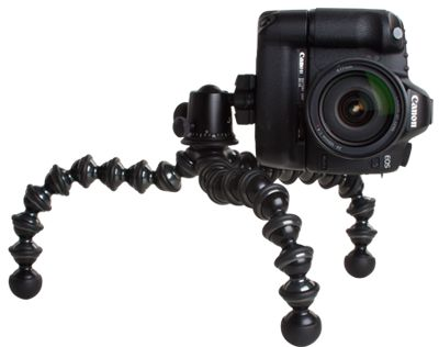 JOBY GorillaPod Focus - Professional Tripod, Lightweight Camera and Video Tripod