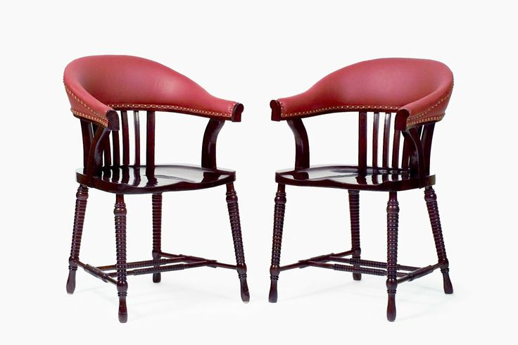 This Pair of alder wood Chairs a la Loos were designed by  : 35c7c3a34ec09114d50cc1a8e2b83ba2 adolf loos otto schmidt from pinterest.com size 736 x 490 jpeg 35kB