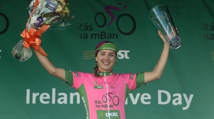 Alice Barnes (Team GB) sprinted through the rain on the Parade in Kilkenny to take her second stage victory of the week as Elinor Barker sealed the overall title at the conclusion of An Post Rás na …