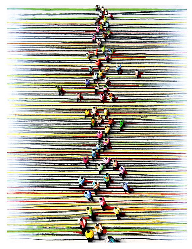 Juan Genovés : Obra grafíca 2000 - Presente
