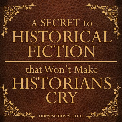How to Write a Historical Book