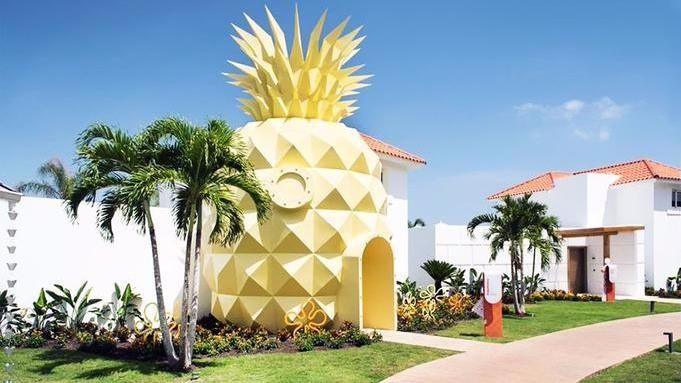 Villa en forme d'ananas