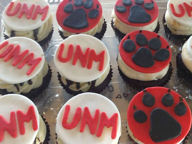 University of New Mexico Cupcakes