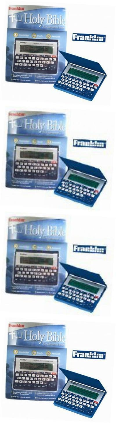 Dictionaries and Translators: Franklin Niv-570 Holy Bible, New International Version -> BUY IT NOW ONLY: $220.8 on eBay!