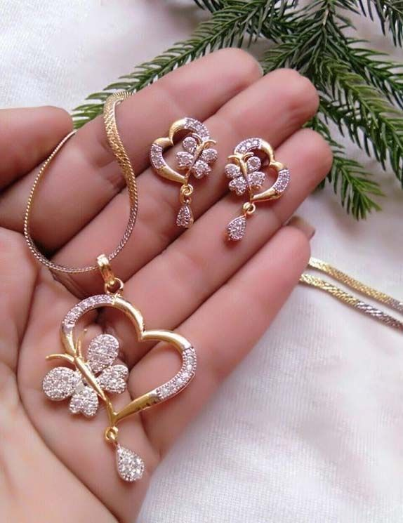 New Collection 2019 Bridal Jewelry Sets Gold Jewellery Design