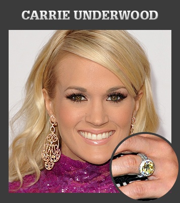 What do you think of Carrie Underwood's engagement ring?  Vote now in March Madness at Hamilton Jewelers! http://www.mood-ringcolormeanings.com/carrie-underwood-engagement-ring.html