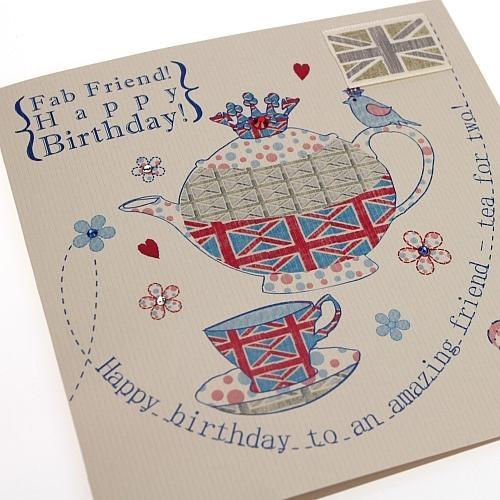 Handmade Birthday Cards, Cards, English Tea Time