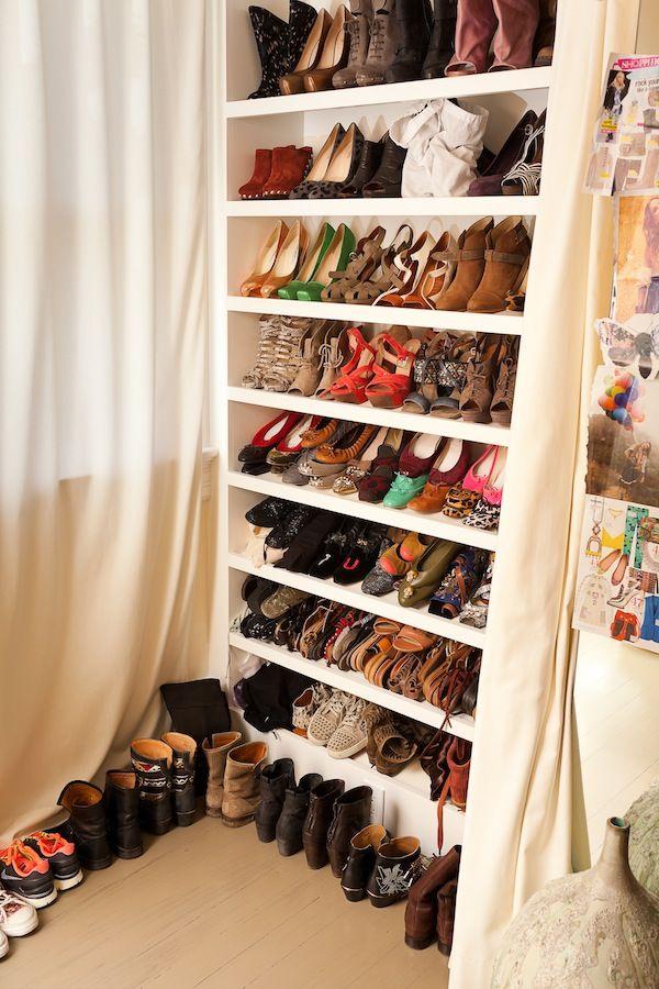 My dream closet for shoes