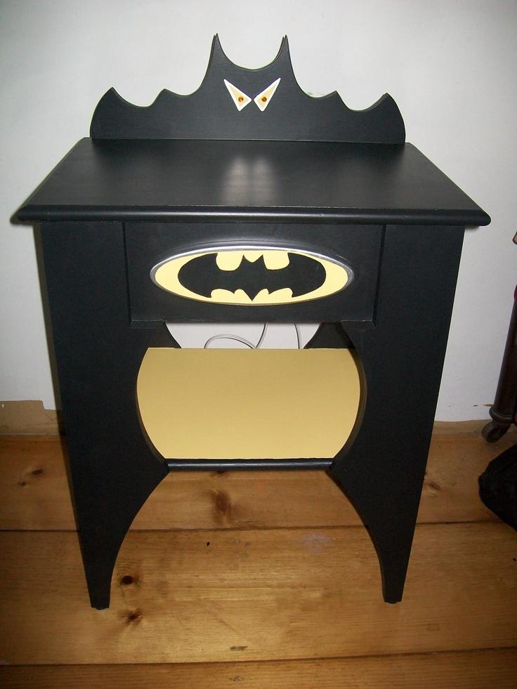 Batman Nightstand By Herzfeldstudiosinc Melissa Jr