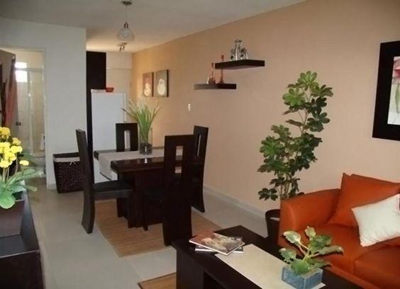 Decoracion de casas peque as infonavit peque os y casas for Decoracion de interiores para apartamentos pequenos